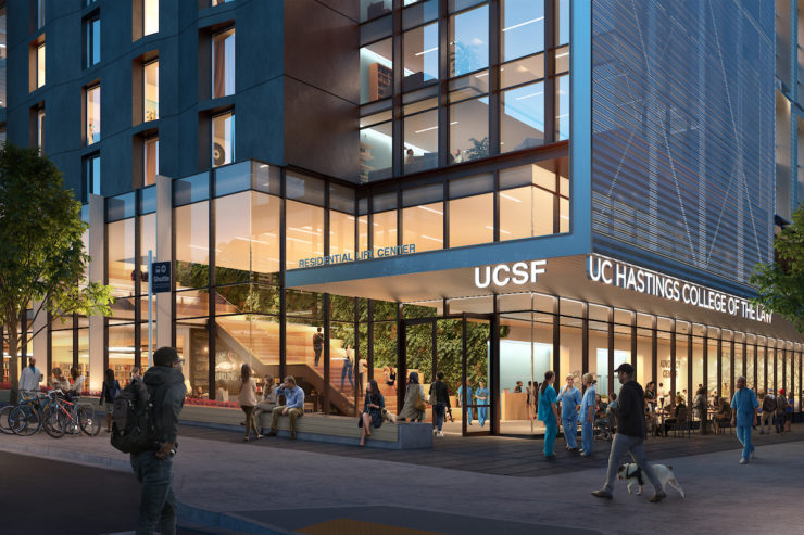 New UCSF/UC Hastings building