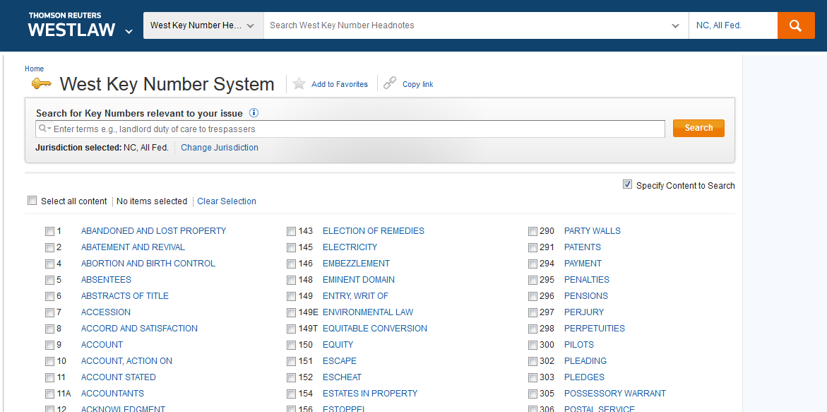 a view of keycite in westlaw