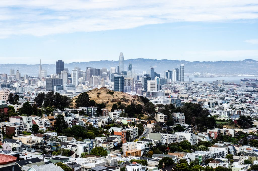 A view of the city of San Francisco