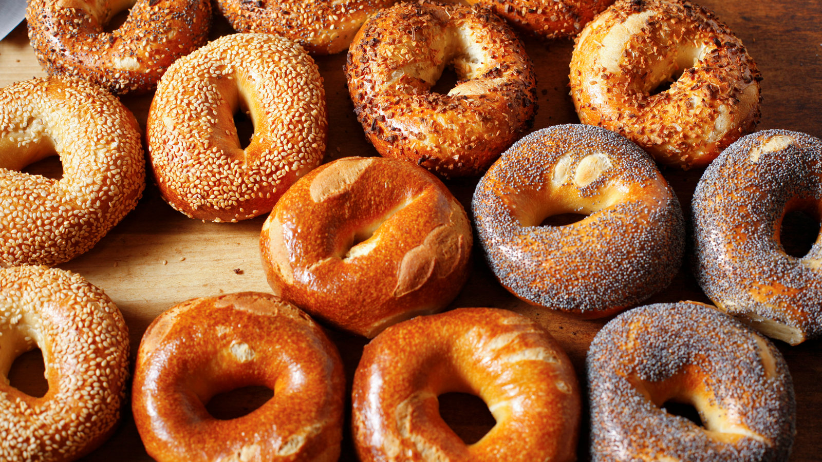 photo of bagels