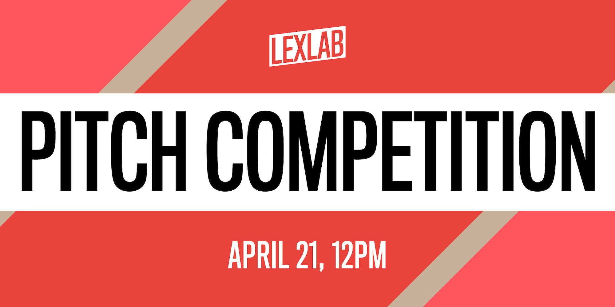 pitch competition April 21 noon